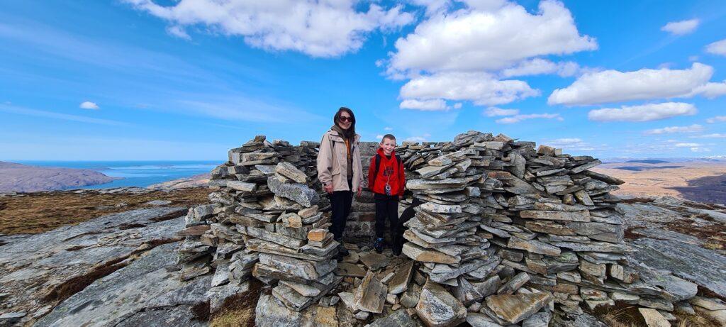 Hillwalking around Ullapool